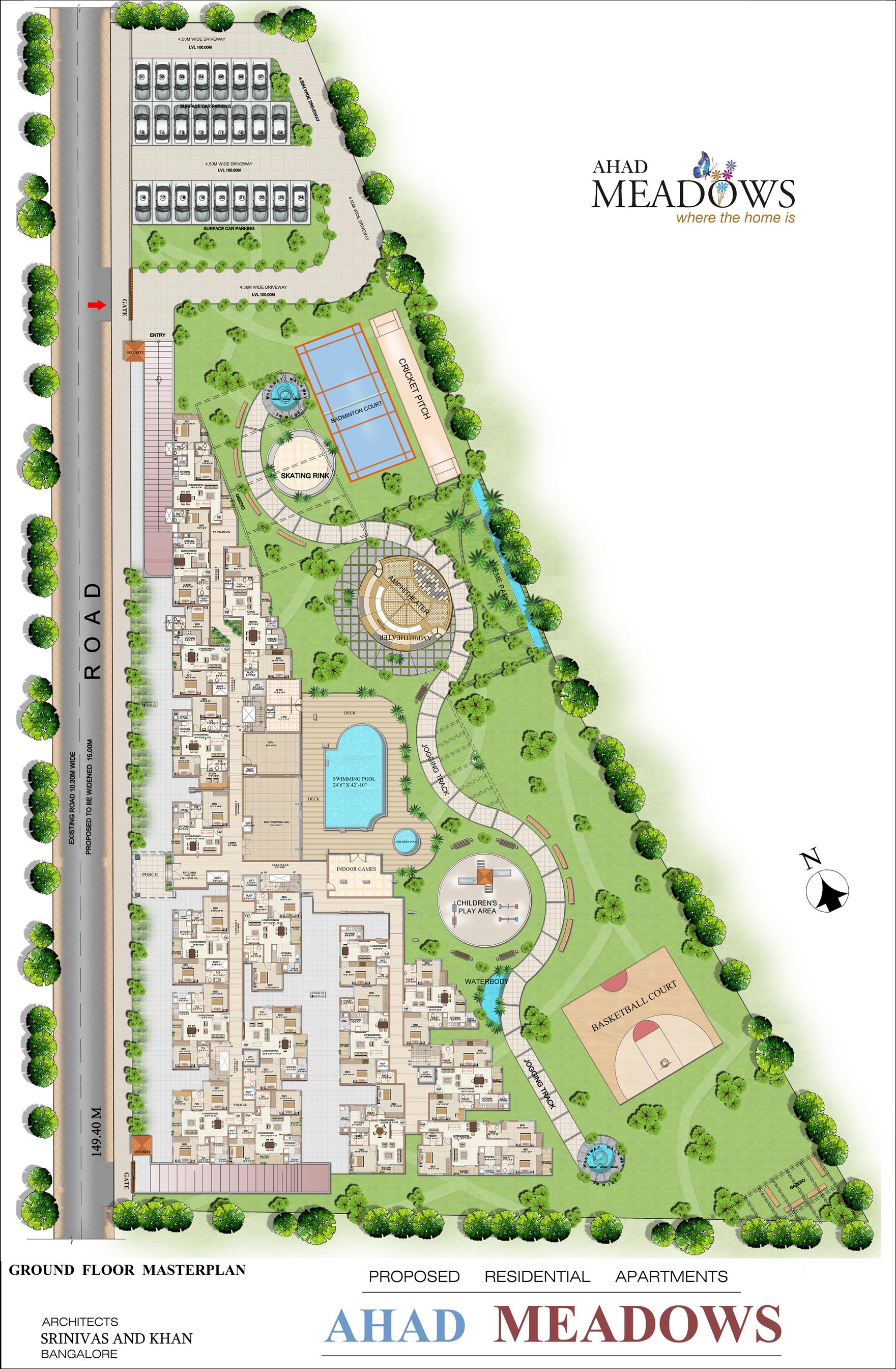 Ahad Meadows Masterplan